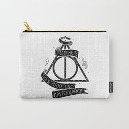 Harry Poter and the Deathly Hallows Carry-All Pouch