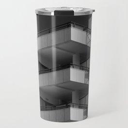 concrete - angles and spiral Travel Mug