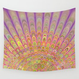 Happy Morning Mandala Wall Tapestry