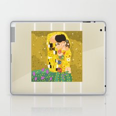 The Kiss (Lovers) by Gustav Klimt  Laptop & iPad Skin