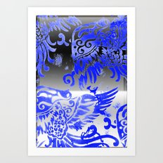 Fly Day or Night Art Print