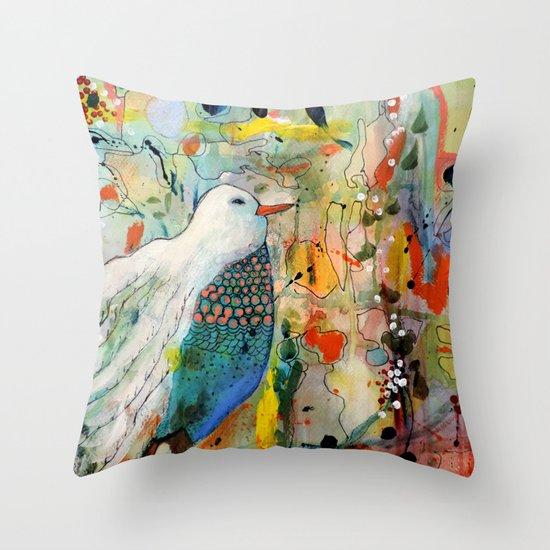 vers toi Throw Pillow