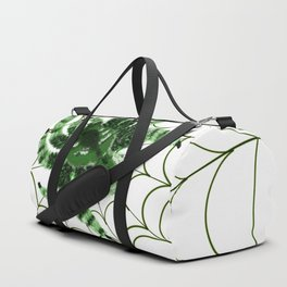 The green Spider Duffle Bag