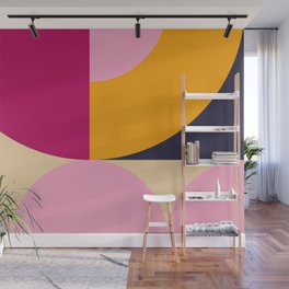 Spring- Pantone Warm color 04 Wall Mural