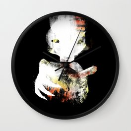 Tiger Zombie Wall Clock