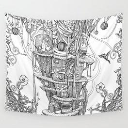 IMAGINATION (metal mug, throw, tapestries) Wall Tapestry