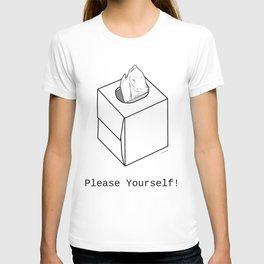 Tissue Box White T-shirt