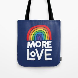 more love Tote Bag