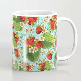 Botanical Strawberries Coffee Mug