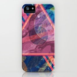 Mystic Astrology Geometry iPhone Case