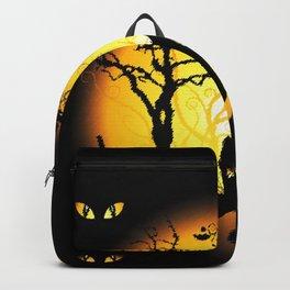 Halloween Castle Nightmare Backpack