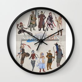 Strataegis - Classes Circle Wall Clock