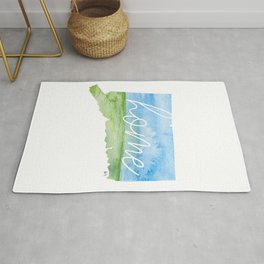 Connecticut Home State Rug