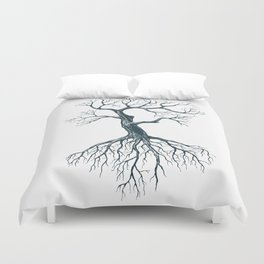 Tree without leaves Duvet Cover