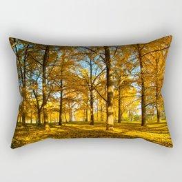 Field of Gold Rectangular Pillow