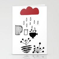 calendar Stationery Cards featuring CALENDAR 2014 by Maruša Novak