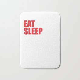 Eat Sleep Crossword Puzzle Repeat Puzzler Brain Teaser Thinking Strategy Game Gift Bath Mat
