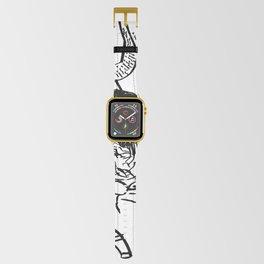 Verre sur chaise Apple Watch Band