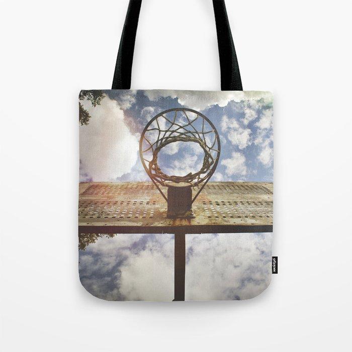 Hoosier Basketball Tote Bag