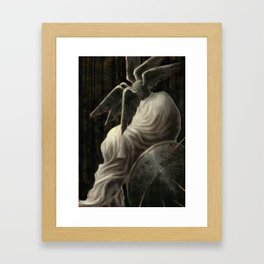 King Night Framed Art Print