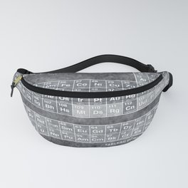 Tableau Periodiques Periodic Table Of The Elements Vintage Chart Silver Fanny Pack