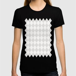 Diamonds (Platinum/White) T-shirt