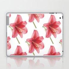 Amaryllis pattern Laptop & iPad Skin