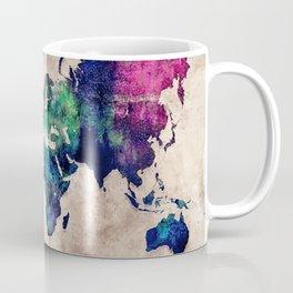 World map watercolor 1 Coffee Mug