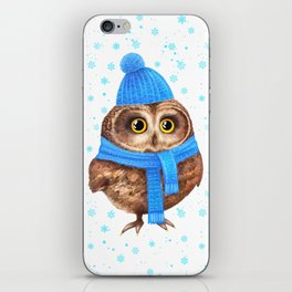 winter Owl iPhone Skin