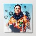 Astronaut Elon Musk by michailoavilov
