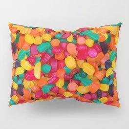 Jujubes Gummy Candy Photo Pattern Pillow Sham
