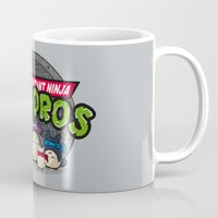 tmnt Mugs featuring TMNT by fishbiscuit