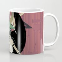 baphomet Mugs featuring Baphomet by Sparganum