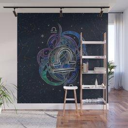Libra Zodiac Sign Air Element Wall Mural