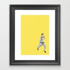 Run Cary Run Framed Art Print