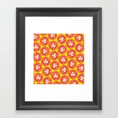 sliced Framed Art Print