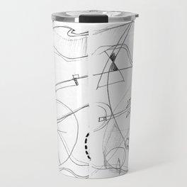 paradise in pencil Travel Mug