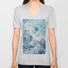 Sea Swirl Unisex V-Neck
