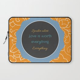Everything, Everything by Nicola Yoon Laptop Sleeve