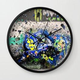 moto gp Wall Clock