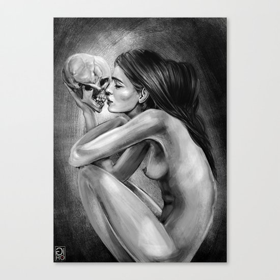 """Love You Till The End"" Canvas Print"