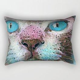 Aquarius Cat Rectangular Pillow