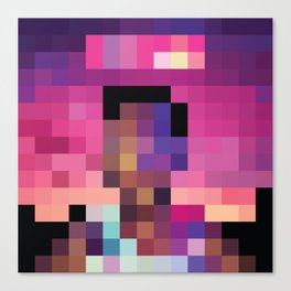 Acid Pixel Rap Canvas Print