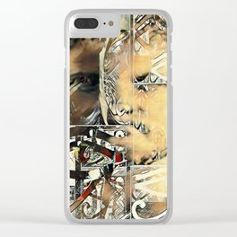 Phillip of Macedon series 13 Clear iPhone Case