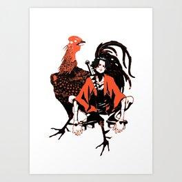 samurai champloo Art Print
