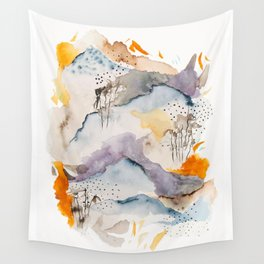 marmalade mountains Wall Tapestry