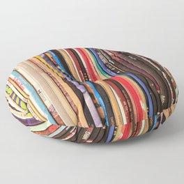 Indie Rock Vinyl Records Floor Pillow