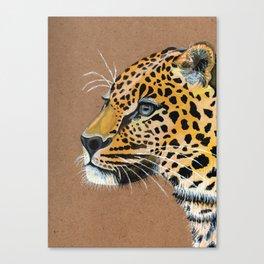Leopard glance Canvas Print