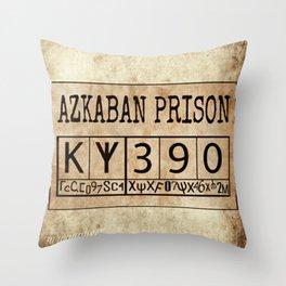Azkaban Prison Throw Pillow