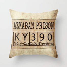 Azkaban Prison Throw Pillow